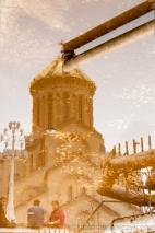 cerkiew, Cminda Sameba, Georgia, Georgian Orthodox Church, Gruzja, Holy Trinity Cathedral Church of Tbilisi, Holy Trinity Cathedral of Tbilisi, orthodox church, Orthodoxy, patriarch of Georgia, Patriarcha Gruzji, Prawosławie, Sameba, Sobór Katedralny Gruzińskiego Kościoła Prawosławnego, Sobór Trójcy Świętej w Tbilisi, Tbilisi, tbilisis cminda samebis sakatedro tadzari, wzgórze św. Eliasza, Nikon D700, podróż, journey, travel,