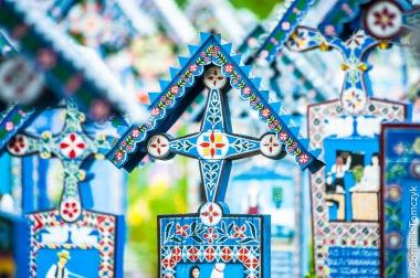Rumunia, Sapanta, Wesoły Cmentarz, -8924