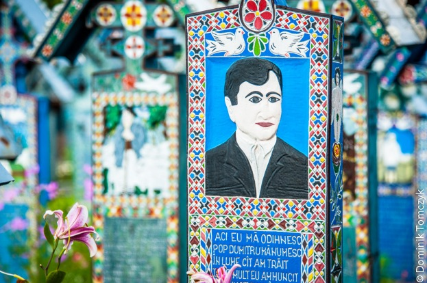Rumunia, Sapanta, Wesoły Cmentarz, -8934