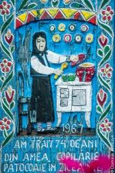 Rumunia, Sapanta, Wesoły Cmentarz, -8941
