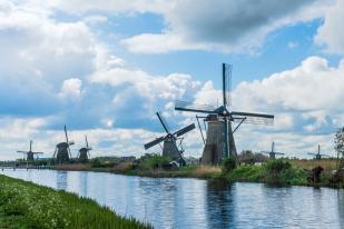 Holandia- Kinderdijk-80500