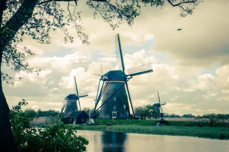 Holandia- Kinderdijk-80505