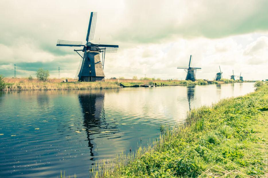 Holandia- Kinderdijk-80521